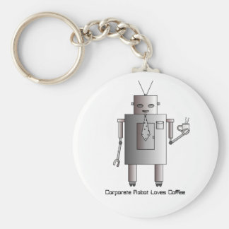 De collectieve Koffie van de Liefdes van de Robot, Sleutelhanger