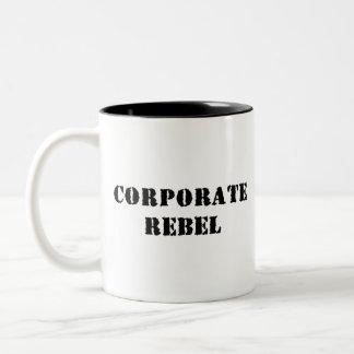 De collectieve RebellenMok van de Koffie Tweekleurige Koffiemok