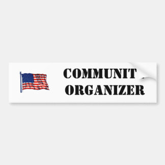 De communautaire Sticker van de Bumper van de Orga