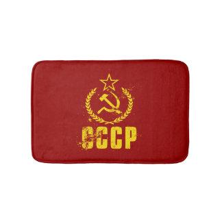 De communistische Badmatten van de Vlag van de