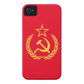 De Communistische Vlag van de koude oorlog iPhone 4 Hoesje
