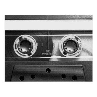 De compacte Band van de Cassette Briefkaart
