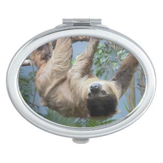 De Compacte Spiegel van de luiaard Handtas Spiegeltje