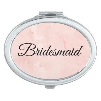 """De compacte spiegel van het """"bruidsmeisje"""" makeup spiegeltje"""