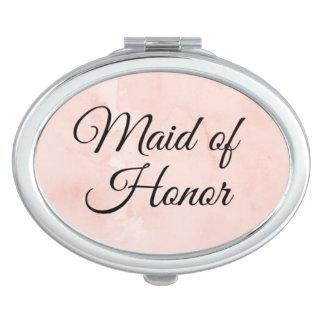 """De compacte spiegel van het """"eerste bruidsmeisje"""" makeup spiegel"""