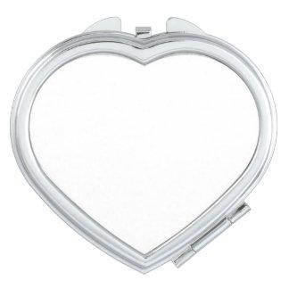 De Compacte Spiegel van het hart Make-up Spiegeltje