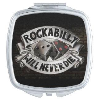 De Compacte Spiegel van Rockabilly Reisspiegeltjes