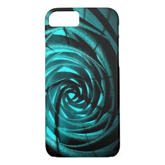 De Complexe Draaikolk van Aqua - iPhone van Apple iPhone 8/7 Hoesje