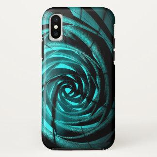 De Complexe Draaikolk van Aqua - iPhone X van iPhone X Hoesje