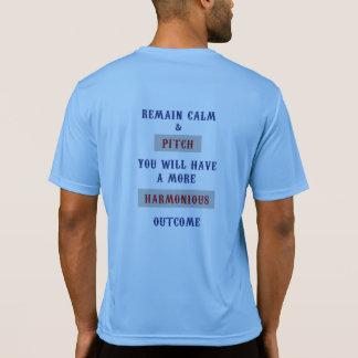 De Concurrent T van sport-Tek van hoeven T Shirt
