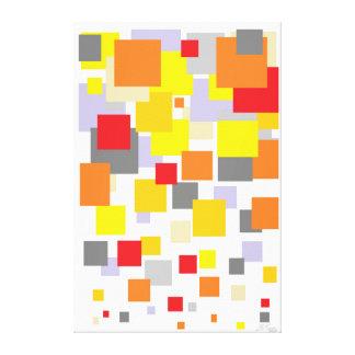De Confettien van Passe Stretched Canvas Afdrukken