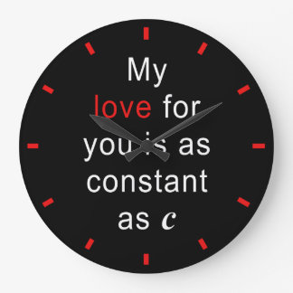 De Constante van de liefde als C Grote Klok