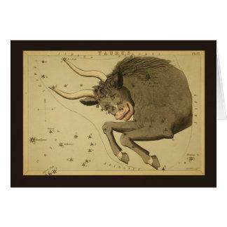 De Constellatie van de Stier Kaart