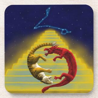 De Constellatie van de Tijger van de draak Onderzetter
