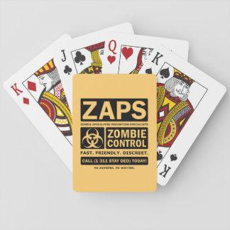 De Controle van de zombie Speelkaarten