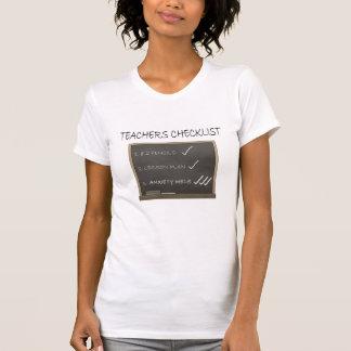 De Controlelijst van de leraar T Shirt
