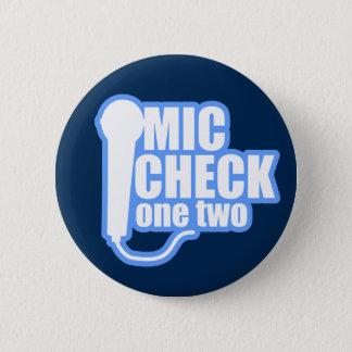 De Controleur van de microfoon Ronde Button 5,7 Cm