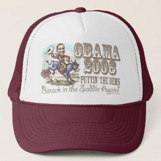 De Cowboy 2008 van Obama Trucker Pet