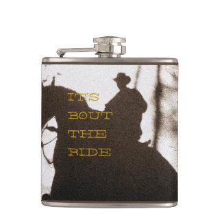 De cowboy het is Periode de Rit Heupfles