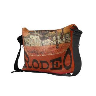 De Cowboy van de rodeo Messenger Bag