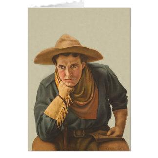 De Cowboy van Howdy Kaart