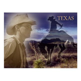 De Cowboy van Texas Briefkaart