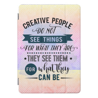 De creatieve Mensen citeren de ProDekking van de iPad Pro Hoesje