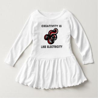 """De """"creativiteit is Dr. van de Ruche van de Peuter Baby Jurk"""