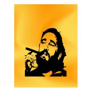 De Cubaanse revolutie van Fidel van Castro Briefkaart