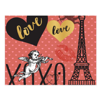 De Cupido's van Valentijn, Harten en de Toren van Briefkaart