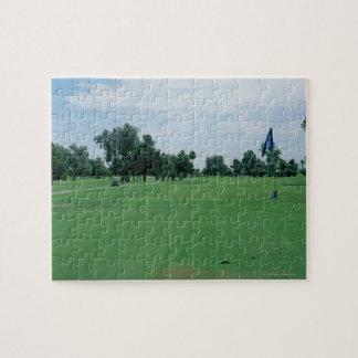 De Cursus van het golf Puzzels