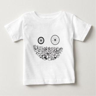 De Cyclus van de Kerstman van het Project van de Baby T Shirts