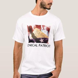 De cynische T-shirt van de Patriot (Mannen)