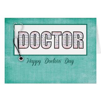 De Dag van artsen in Woorden Kaart