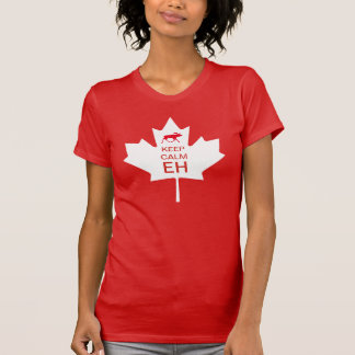De Dag van Canada HOUDT KALME EH T Shirt