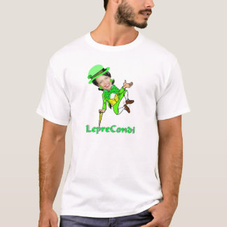 De Dag van Condoleezza St Patricks van de kabouter T Shirt