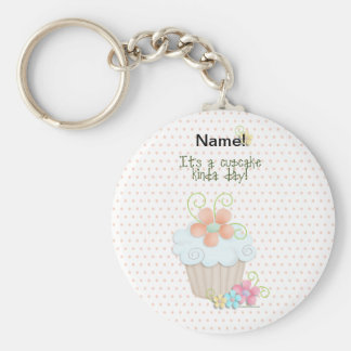 De Dag van Cupcake Sleutel Hanger