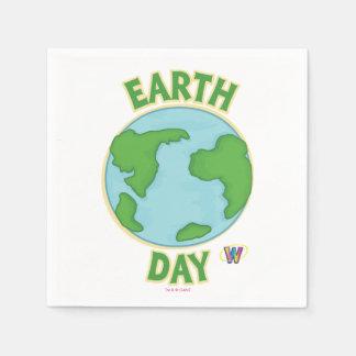 De Dag van de Aarde van Webkinz Wegwerp Servet