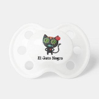 De dag van de Dode Zwarte Kat Baby Speentjes