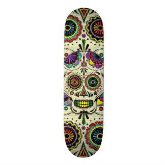 De Dag van de Kunst van de Schedel van de suiker Skateboard