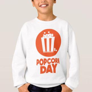 De Dag van de popcorn - de Dag van de Appreciatie Trui