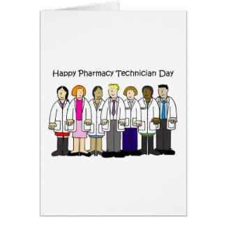 De Dag van de Technicus van de apotheek Briefkaarten 0