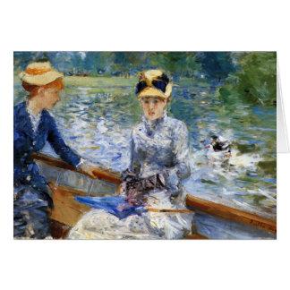 De dag van de zomer door Pierre Renoir Briefkaarten 0