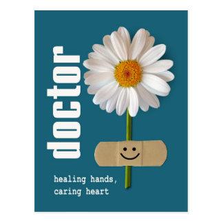 De Dag van gelukkige Artsen. Klantgerichte Briefkaart