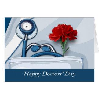 De Dag van gelukkige Artsen. Klantgerichte Kaart