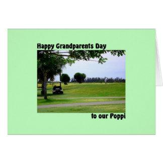 De Dag van grootouders voor Poppi met de Scène van Briefkaarten 0