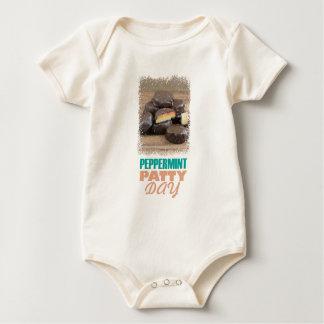 De Dag van het Pasteitje van de pepermunt - de Dag Baby Shirt