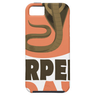 De Dag van het serpent - de Dag van de Appreciatie Tough iPhone 5 Hoesje