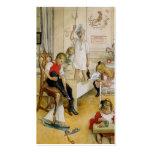 De Dag van Kerstmis in Kinderdagverblijf 1894 Visitekaartjes