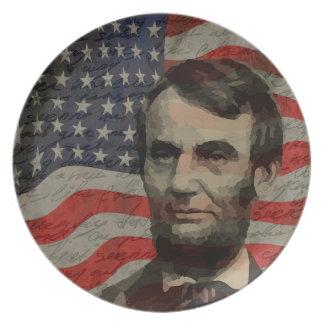 De dag van Lincoln Party Borden